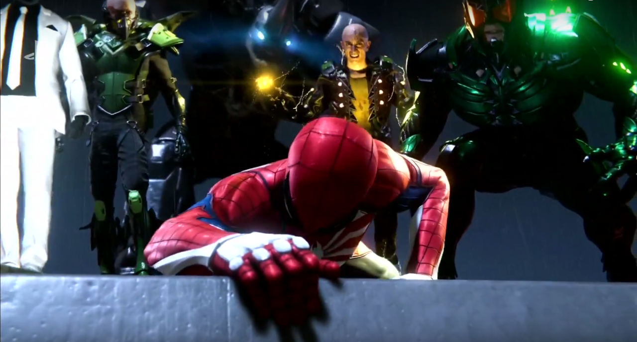 Spiderman vs The Sinister Six