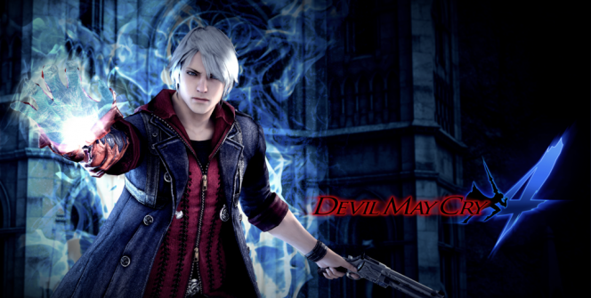 Devil May Cry 4 Banner