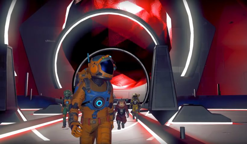 Screenshot from No Man's Sky: Next's Trailer