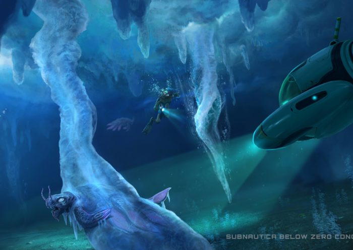 Concept Art For Subnautica Below Zero
