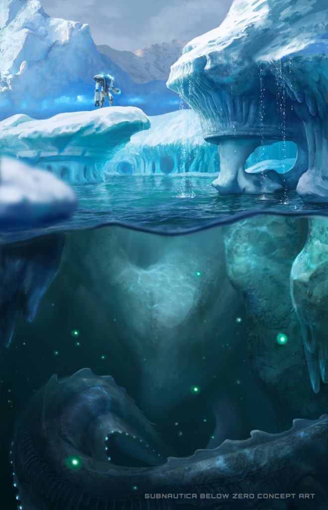 Concept Art For Subnautica: Below Zero