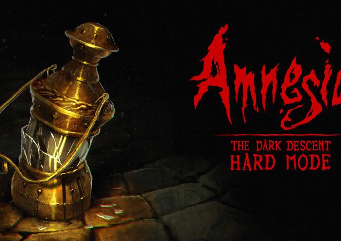 Amnesia: The Dark Descent's Hard Mode Announcement