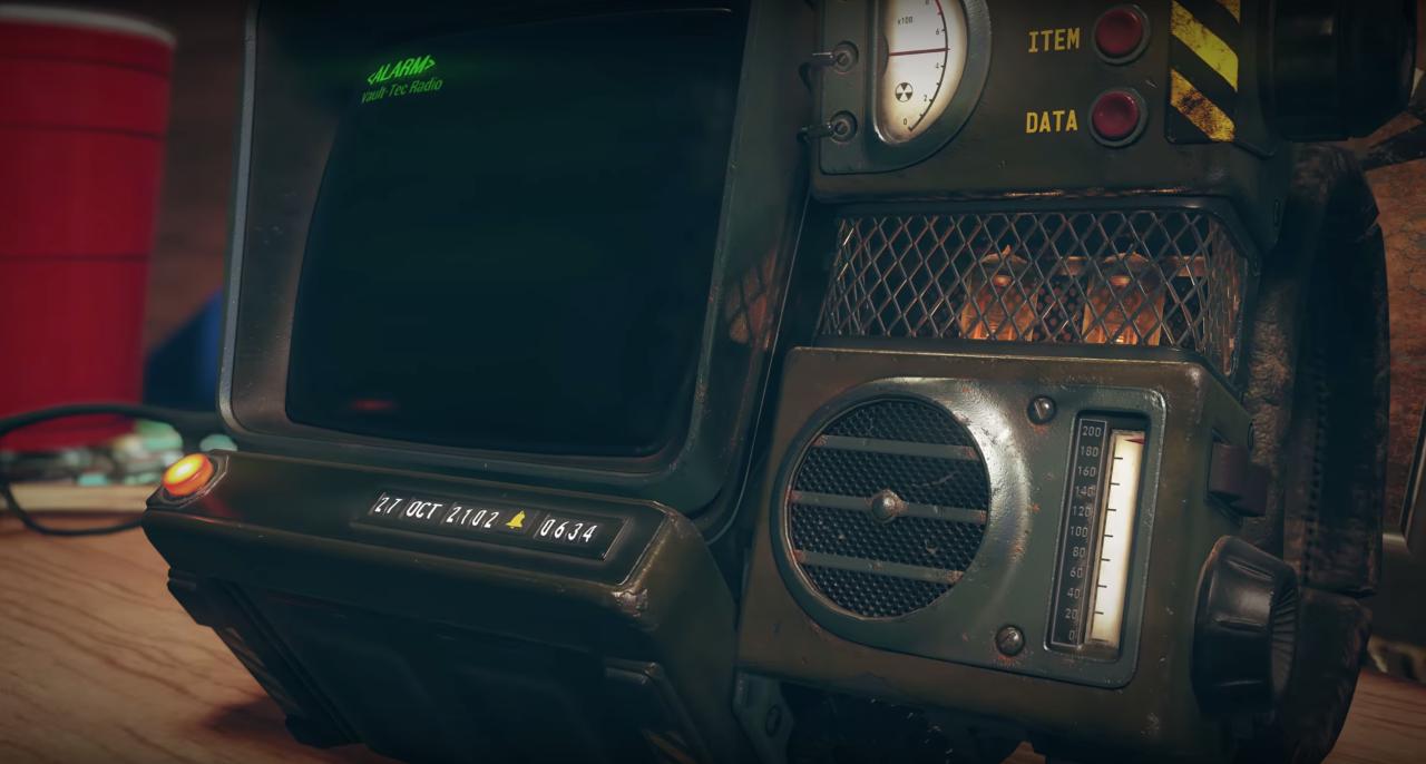 Pip Boy Fallout 76
