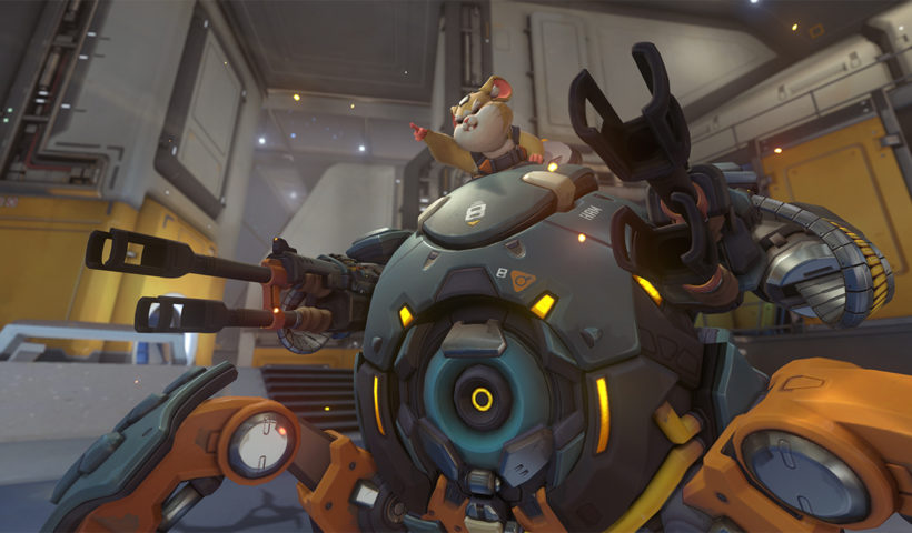 Hammond The Hamster Piloting His Mech Suit