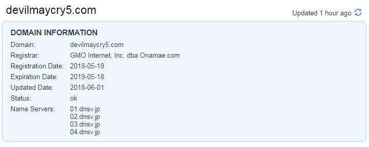 DMC Web Domain Information