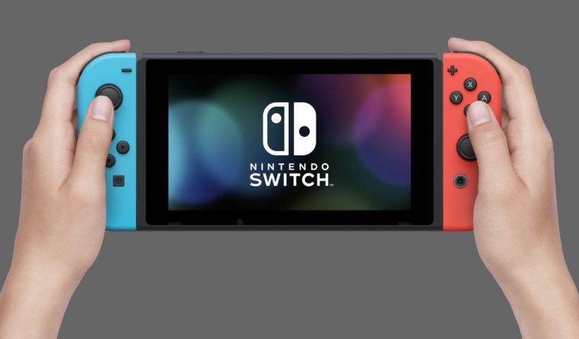 Nintendo Switch Handheld mode