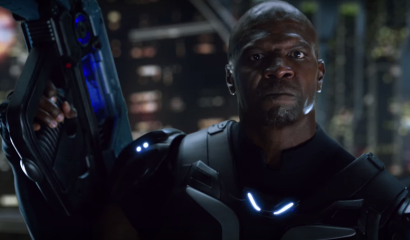 Terry Crews In Crackdown 3 2017 Trailer