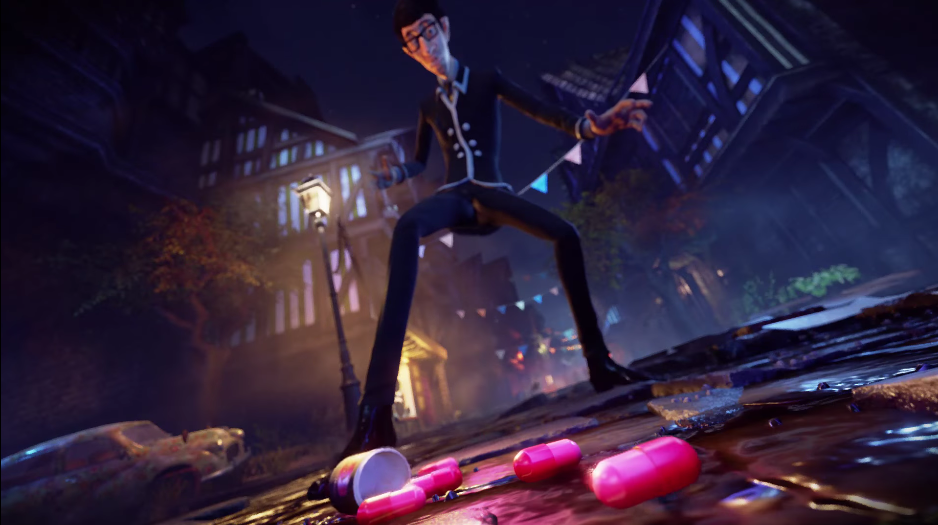 Screenshot from We Happy Few's Announcement Trailer