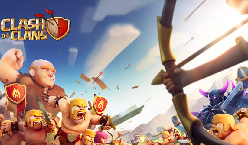 Clash Of Clans Promotion Image