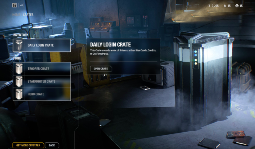 Star Wars Battlefront 2's Lootboxes