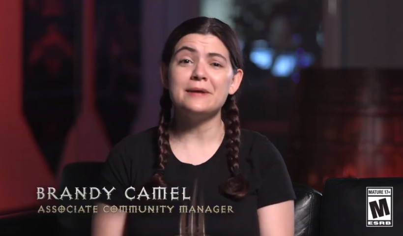 Brady Camel, Community Manager For Diablo 3