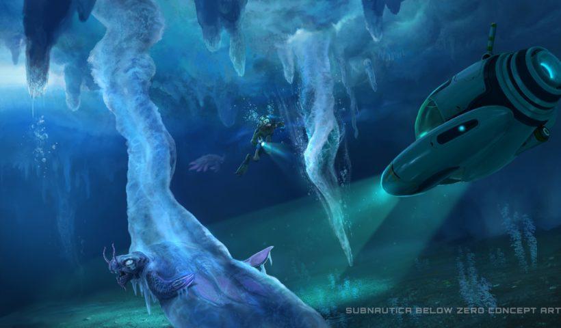 Concept Art For Subnautica Below Zero