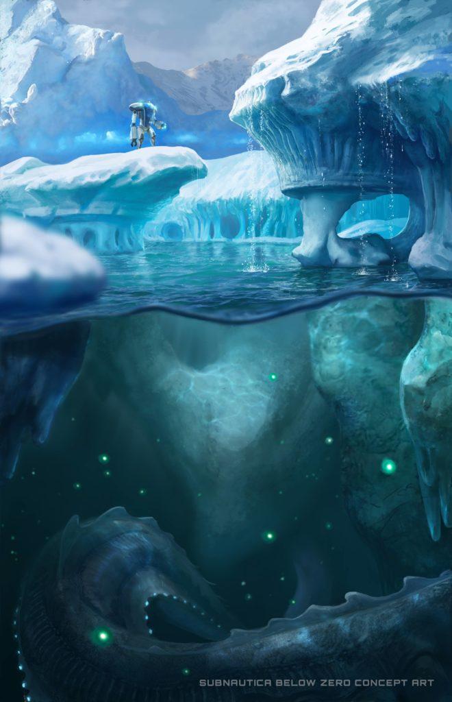 Concept Art For Subnautica: Below Zero
