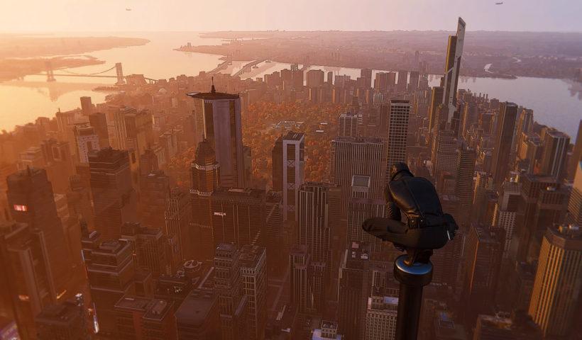 Screenshot from Marvel's Spiderman